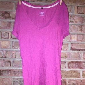 Basic pink top